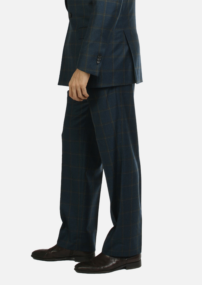 Trousers - Art. MEIKO TROUSERS V5AGT.61FW21-22 - GREEN CHECK