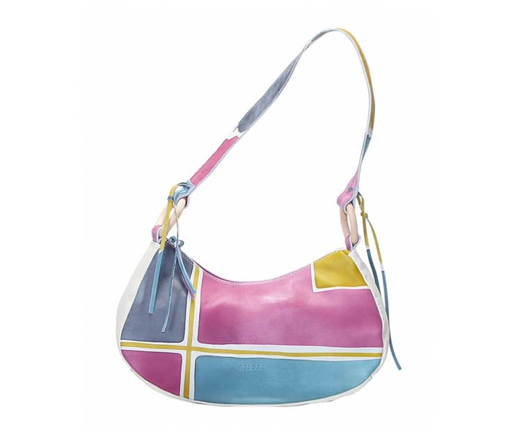 Handbag - Art. Acquerello Ice Geometrico