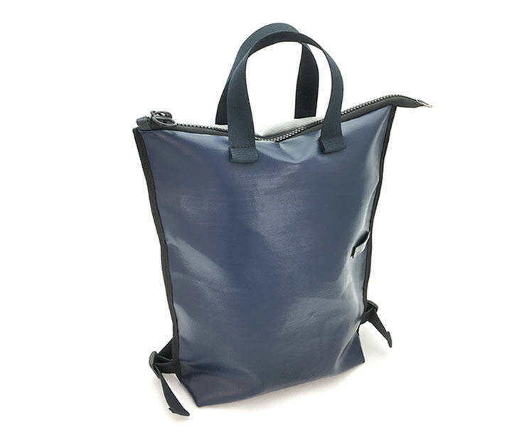 Tote Backpack - Art. Flat Urabn Pack (Blue - Gray)