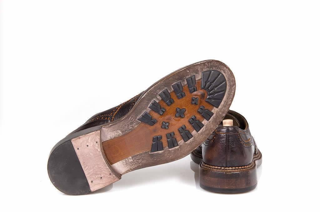 Dark Brown Derby Shoes - Art. 101